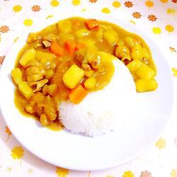 鸡肉咖喱饭的做法[图]