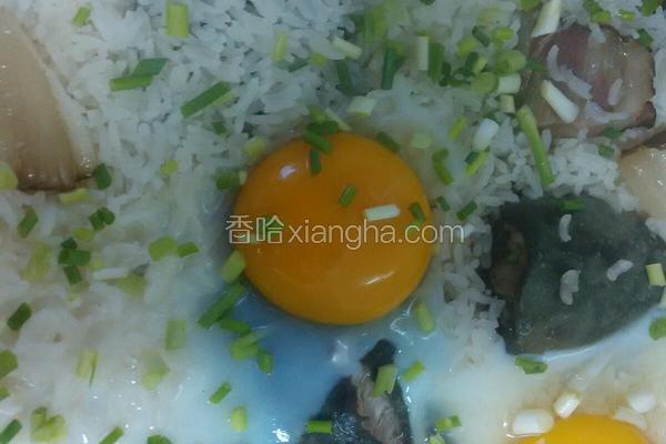 塘虱鸡蛋煲仔饭