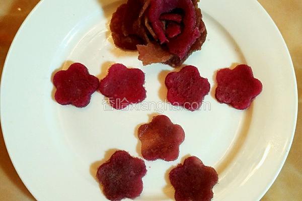 仙人掌果甜饼