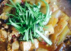 麻辣豆腐炖冬瓜