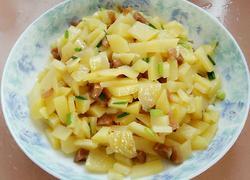 香葱土豆萝卜干丁