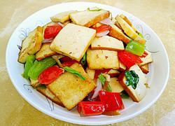 双椒豆腐干