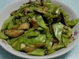 素炒香菇荷兰豆的做法[图]