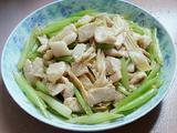 芹菜腐竹肉片的做法[图]