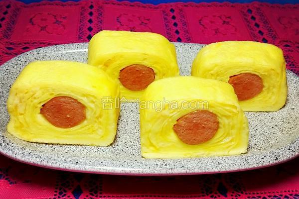 奶酪香腸玉子燒