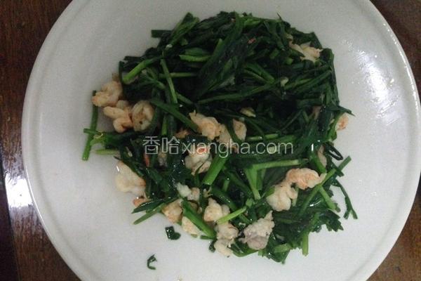 韭菜肉片虾仁