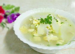 节瓜鸡蛋瘦肉汤