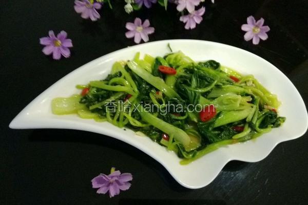 蒜蓉小青菜
