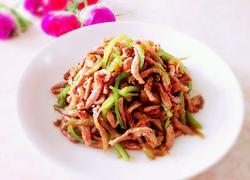 榨菜青椒炒肉丝