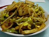 豆芽炒豆腐的做法[图]