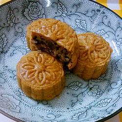 伍仁叉烧广式月饼