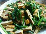 韭菜豆腐干的做法[图]