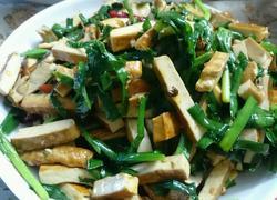 韭菜豆腐干