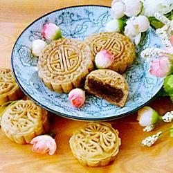 紅豆沙餡廣式月餅的做法[圖]