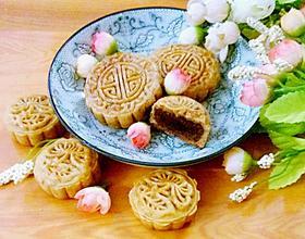 红豆沙馅广式月饼[图]