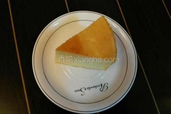 乳酪戚风蛋糕
