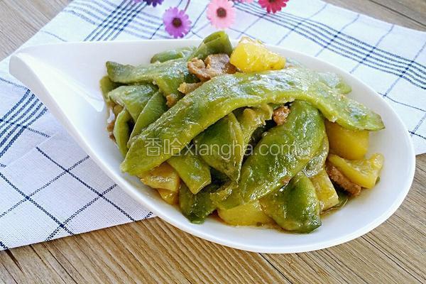 五花肉芸豆炖土豆(简易版)