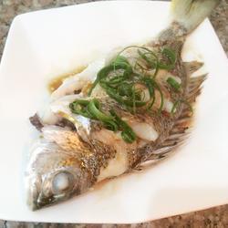 清蒸黄刺鱼