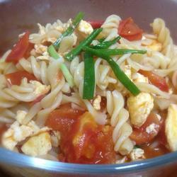 西红柿烩意面