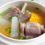 腊骨萝卜汤的做法[图]