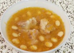 南瓜黄豆排骨汤