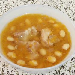 南瓜黃豆排骨湯的做法[圖]