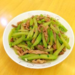 佛手瓜炒肉丝的做法[图]