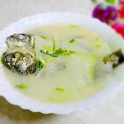 冬瓜鯽魚湯的做法[圖]