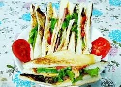 营养早餐之三明治