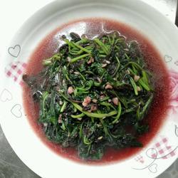 蒜蓉苋菜的做法[图]