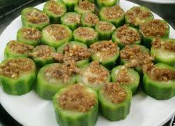 蒜蓉虾米蒸丝瓜