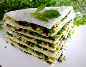 菠菜饼[图]