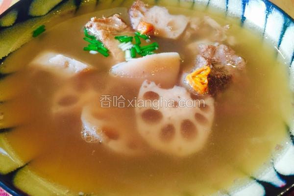 排骨蓮藕湯