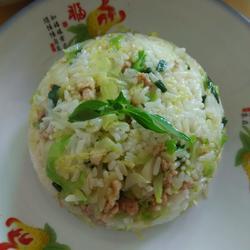 焖包菜饭的做法[图]