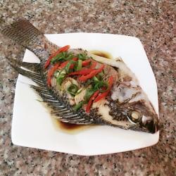 清蒸福壽魚的做法[圖]