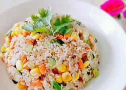 三丁炒米饭