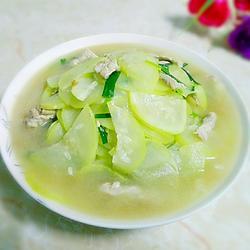 蒲瓜煮瘦肉的做法[圖]