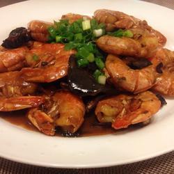 浓香油焖大虾(简易版)