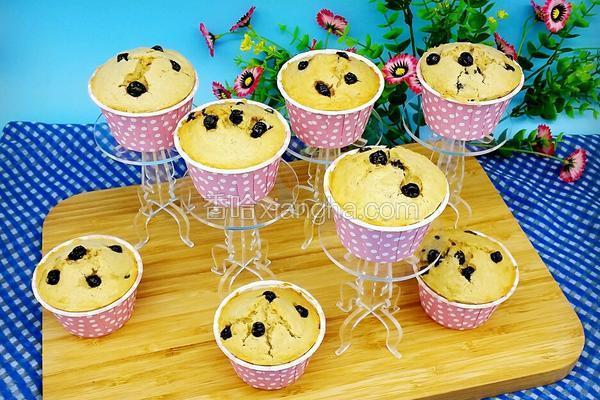 藍莓馬芬(Muffin)蛋糕