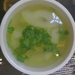 冬瓜海米湯(正常應該是蝦仁啦)的做法[圖]