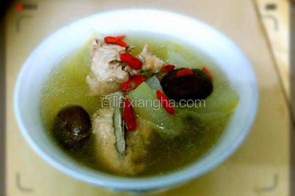 广东靓汤—冬瓜龙骨汤