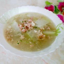 冬瓜肉末汤的做法[图]