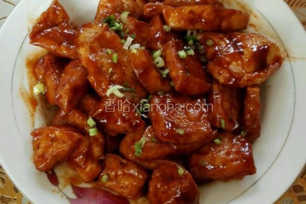 韩国辣酱豆腐