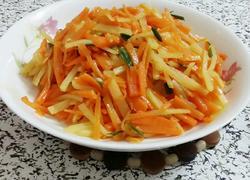 香葱胡萝卜土豆丝