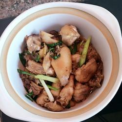 姜葱鸡的做法[图]