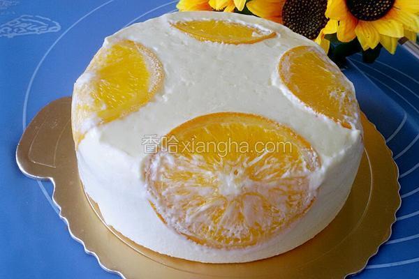 香橙慕斯蛋糕