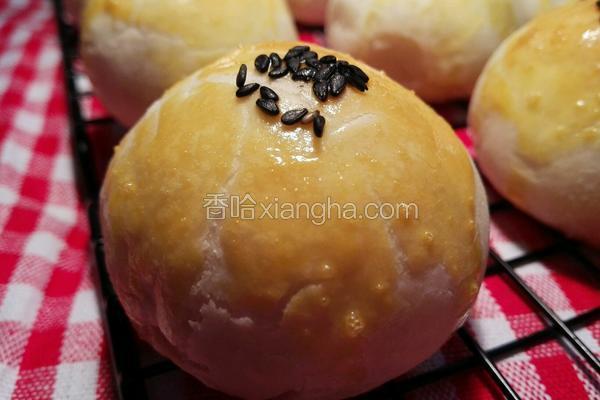 苏式榨菜鲜肉月饼(玉米油版)