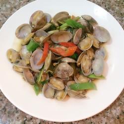 爆炒花蛤的做法[图]