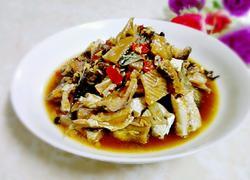 蒜蓉豉汁蒸鲮鱼干