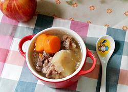 葛根红萝卜猪骨汤